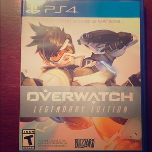 Over watch for PS4